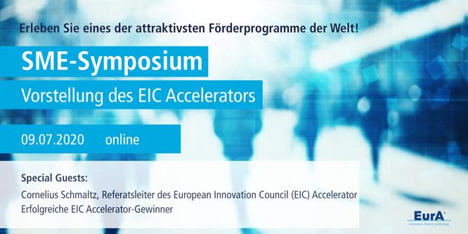 SME-Symposium: Insights zu einem der attraktivsten Förderprogramme der Welt erhalten