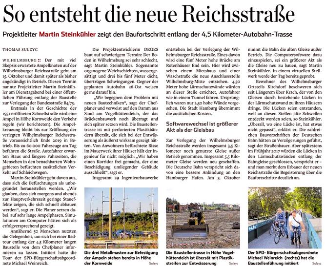 Hamburger Abendblatt 18.08.16