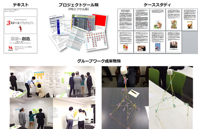 プロジェクトマネジメント,教材,プロジェクトツール,ケーススタディ,グループワーク