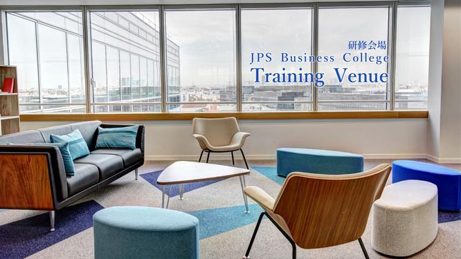 JPSビジネスカレッジの研修会場のイメージ画像