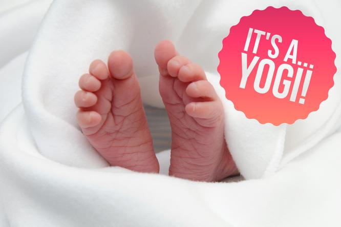 Baby Namen Ideen für Yogamamas auf dem Mama Yoga Blog MOMazing.