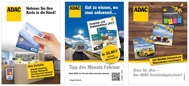 ADAC Nordrhein e.V. A1 Plakate