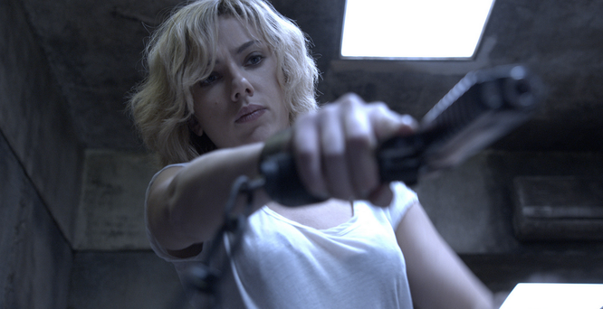 Scarlett Johansson como 'Lucy'. Fuente: www.lucy-lapelicula.es