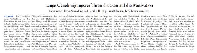 aus Seckenheim Rheinau Nachrichten, 23. März 2018