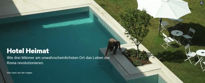 Article in the Süddeutsche Zeitung about Hotel Gracanica