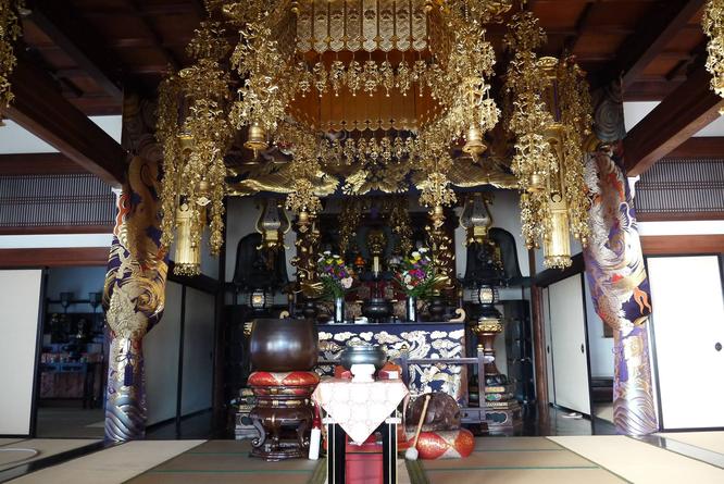 崇福寺本堂