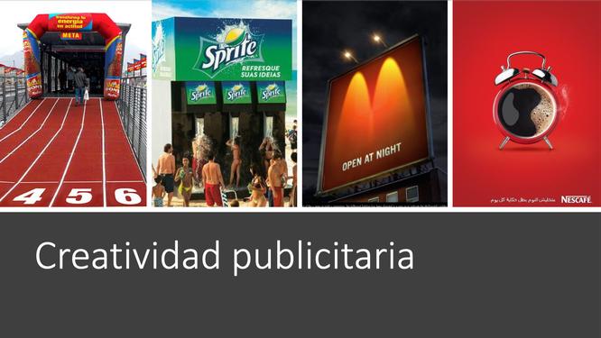 Qué es la creatividad publicitaria