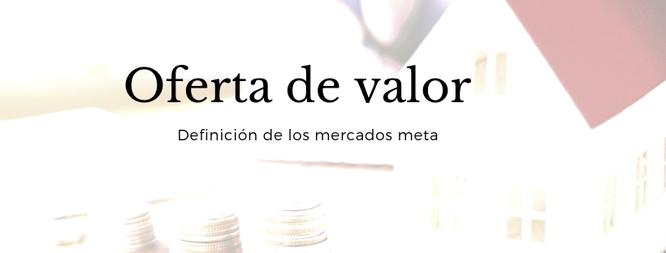 La propuesta de valor