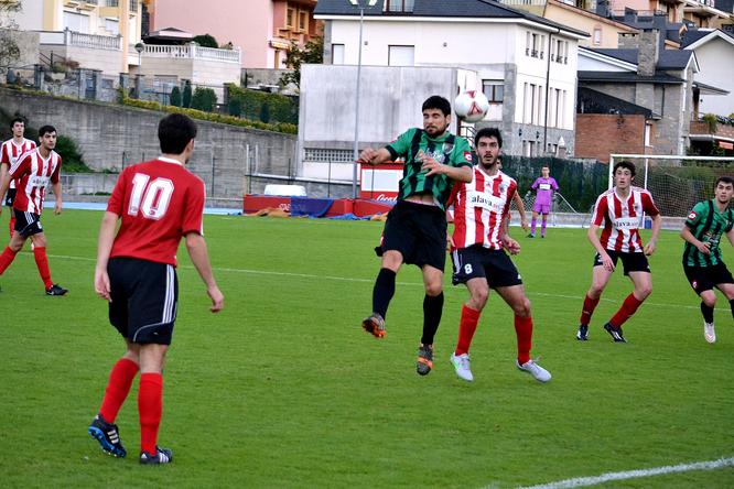 En el partido de la primera vuelta el Laudio venció por un claro 4-0.