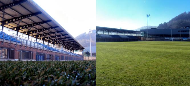 Campo de fútbol de Loinaz, lugar donde se desarrollará el triangular. Fotos: www.beasainke.com