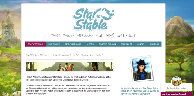 Star Stable Hilfeseite für Groß und Klein!