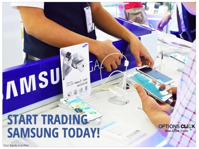 Samsung trada opzioni binarie optionsclick