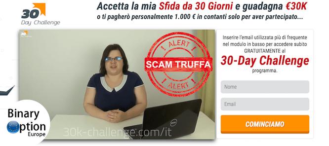 metodo 30k challenge.com - sfida 30 giorni 30 mila euro