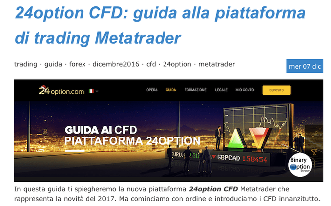 24option metatrader 4 cfd