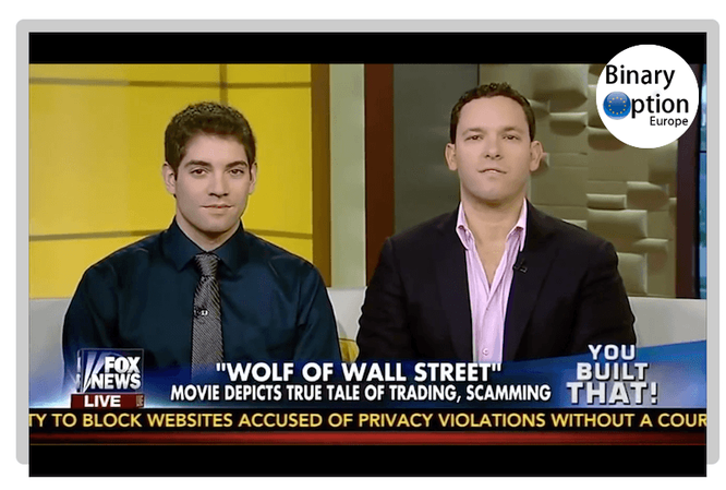 Timothy Sykes alla tv wolf of wall street