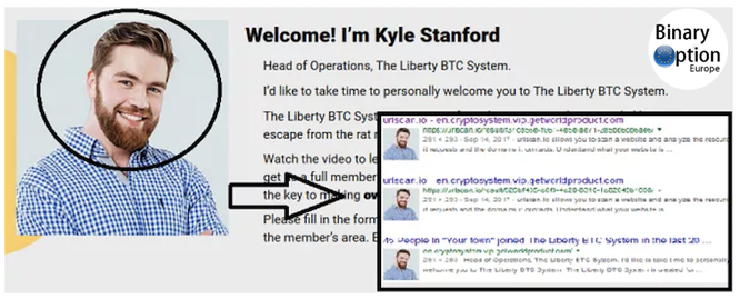 kyle stanford liberty btc system truffa robot