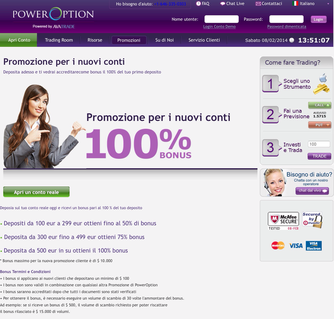 Bonus poweroption