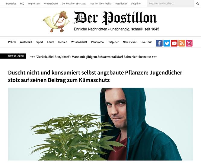 """Ein weiterer Beleg für die Regierungsbeteiligung: Die stümperhaft zusammengefrickelte Homepage im Design """"Neuland"""""""