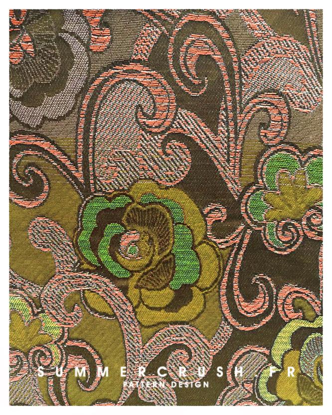 Retro Floral jacquard • Winter 2017