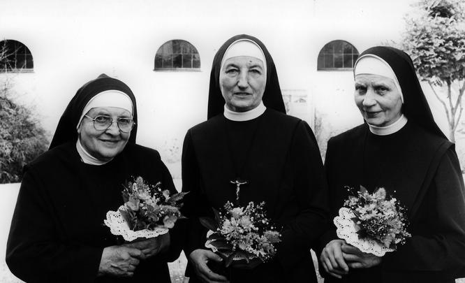 Verabschiedung der Niederbronner Schwestern 1985