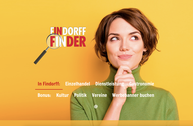 Ihr Eintrag im FINDORFF FINDER: www.findorff-finder.de/änderung-mailen/