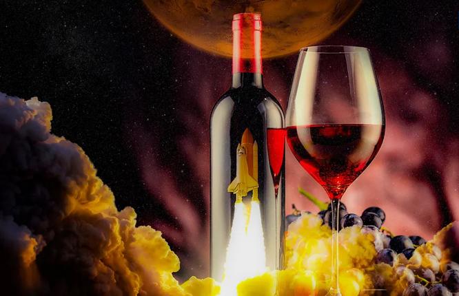 Antioxidante del vino hace más fuertes a los astronautas