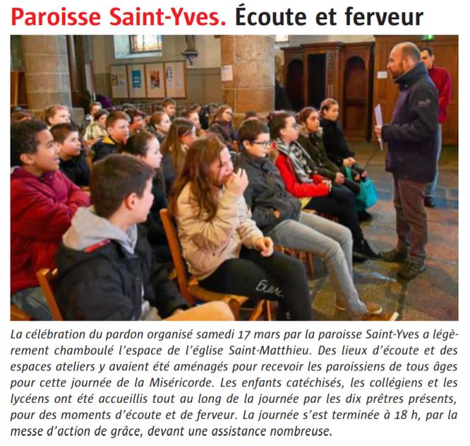Le Télégramme - Edition Morlaix - 20/03/2017
