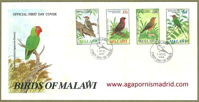 1985 FDC Malawi