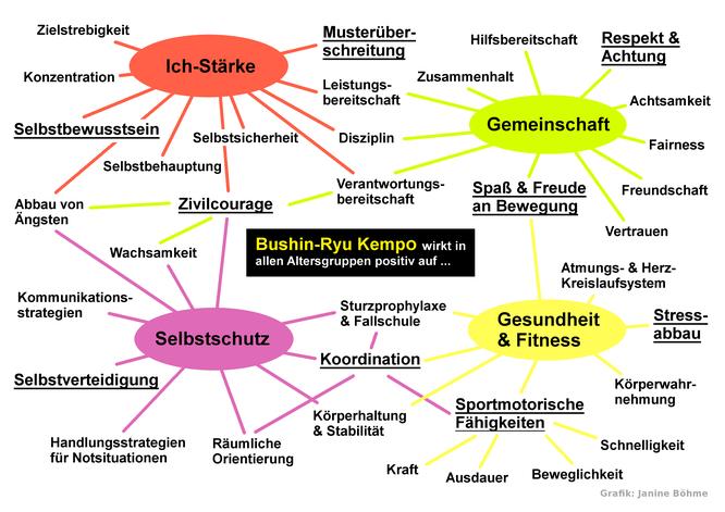 Vorteile von Bushin-Ryu Kempo