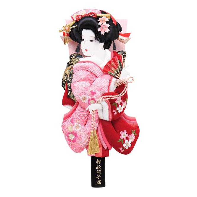 羽子板「桜小町振袖」道成寺