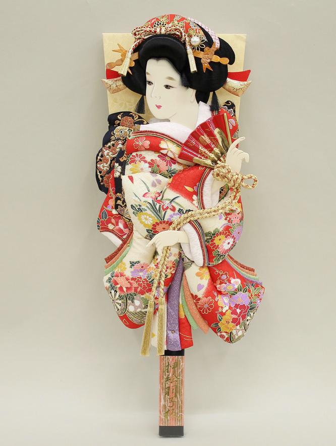 羽子板「夢さくら」道成寺