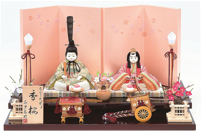真多呂人形「香桜セット」品番:1280