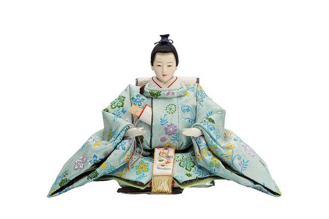 優香作ひな人形 花喰鳥 男雛(京十二)