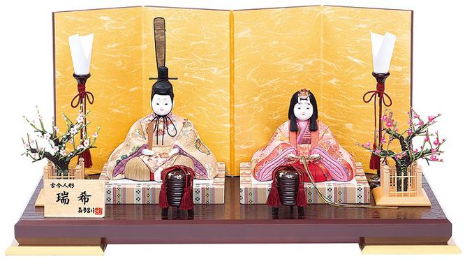 真多呂人形 親王飾り「瑞希雛セット」品番:1293