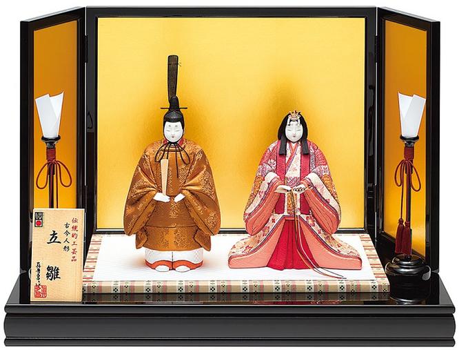 真多呂人形「東宮立雛セット」品番:1161 伝統的工芸品