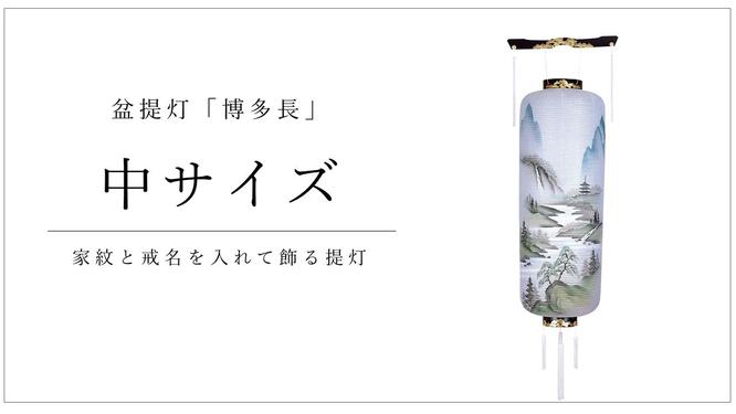 盆提灯 博多長(中)
