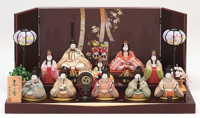 真多呂人形「春香10人飾り」品番:1375
