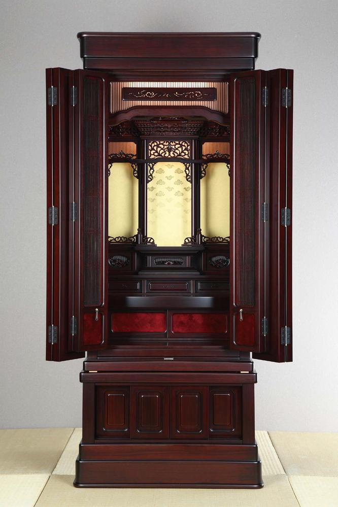 紫檀仏壇「鷹山 筬」55-20
