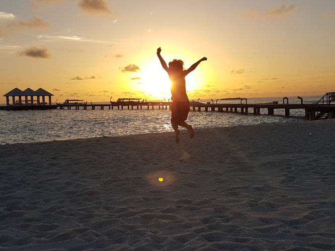 La nona volta di Lorenzo alle Maldive