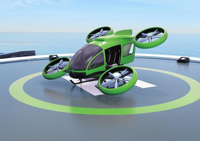 Flugtaxis: Die Zukunft des innerstädtischen Verkehrs?