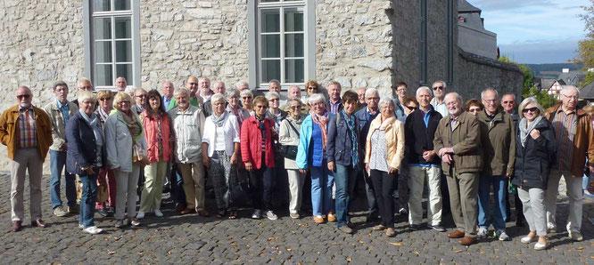 Gießener Sparkassen-Senioren in Limburg