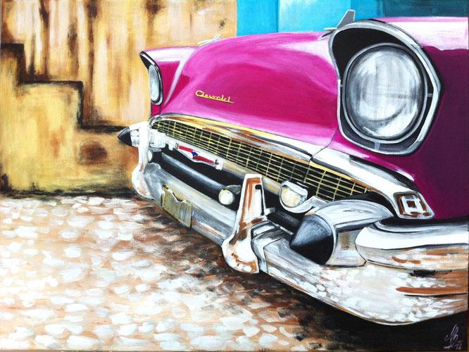 """""""La Habana"""", 2012,  acrylic on canvas, 60x80"""