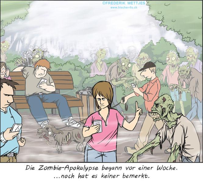 Cartoon by Frederik Mettjes
