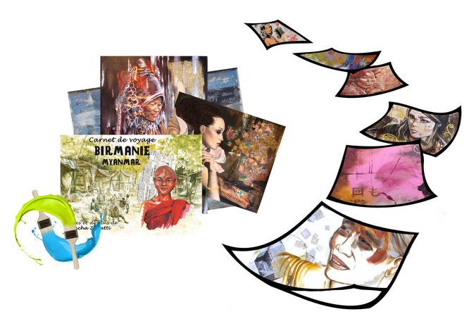 image d'accroche vue d'ensemble, peinture et illustration, natpalette