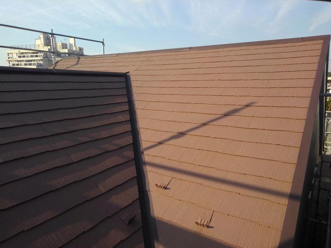 大田区山王、断熱機能とデザインを備えた屋根