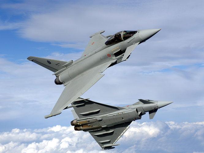 Due esemplari dell'Aeronautica Militare / © Alenia Aermacchi