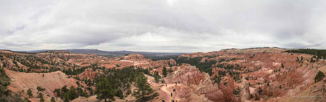 Panorama Eastern Side Bryce Canyon