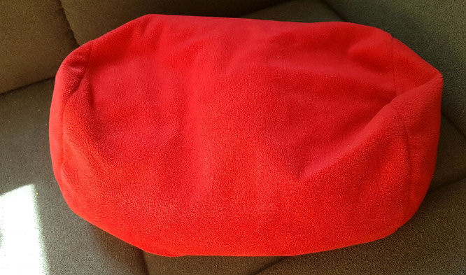Insbesondere gefüllte Kissen sind für mich ausgezeichnet zum Frustabbau geeignet.