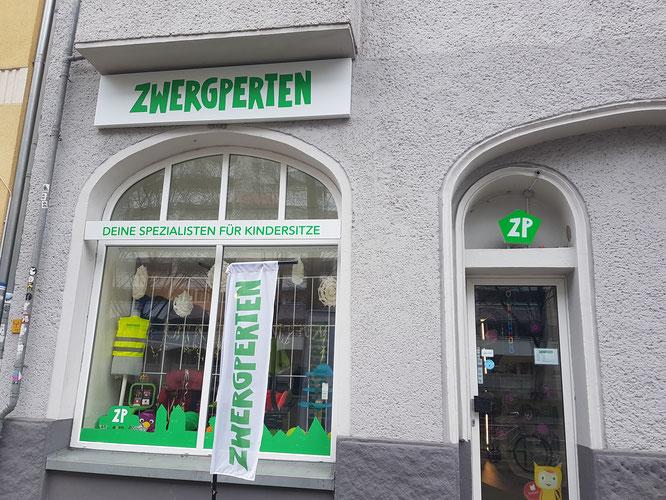 Zwergperten-Shop in Berlin-Friedrichshain: Spezialist (nicht nur) für Auto-Kindersitze.