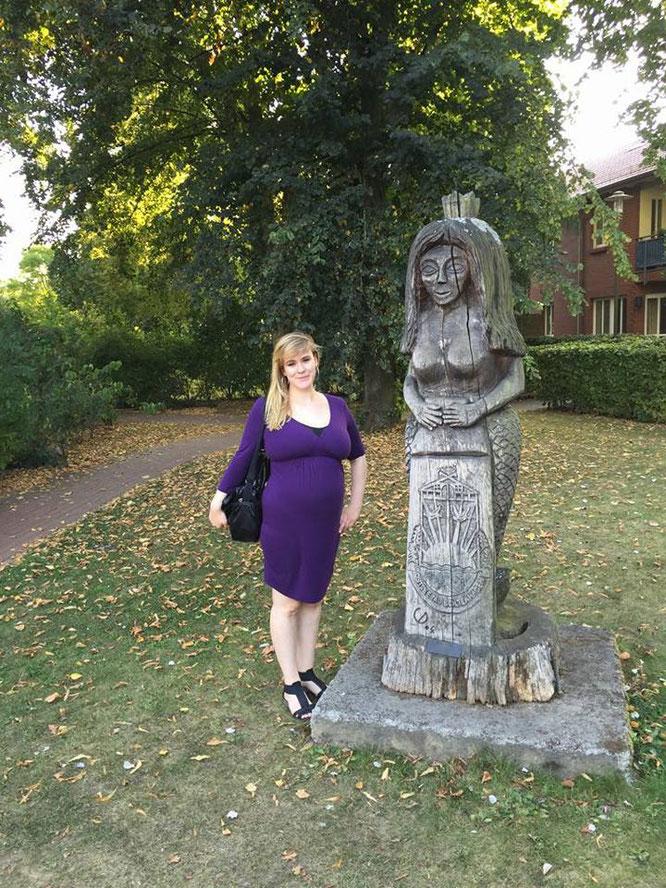 Der letzte Urlaub vor Juniors Geburt ging an die Ostsee. Wohin geht wohl die erste Reise zu dritt?